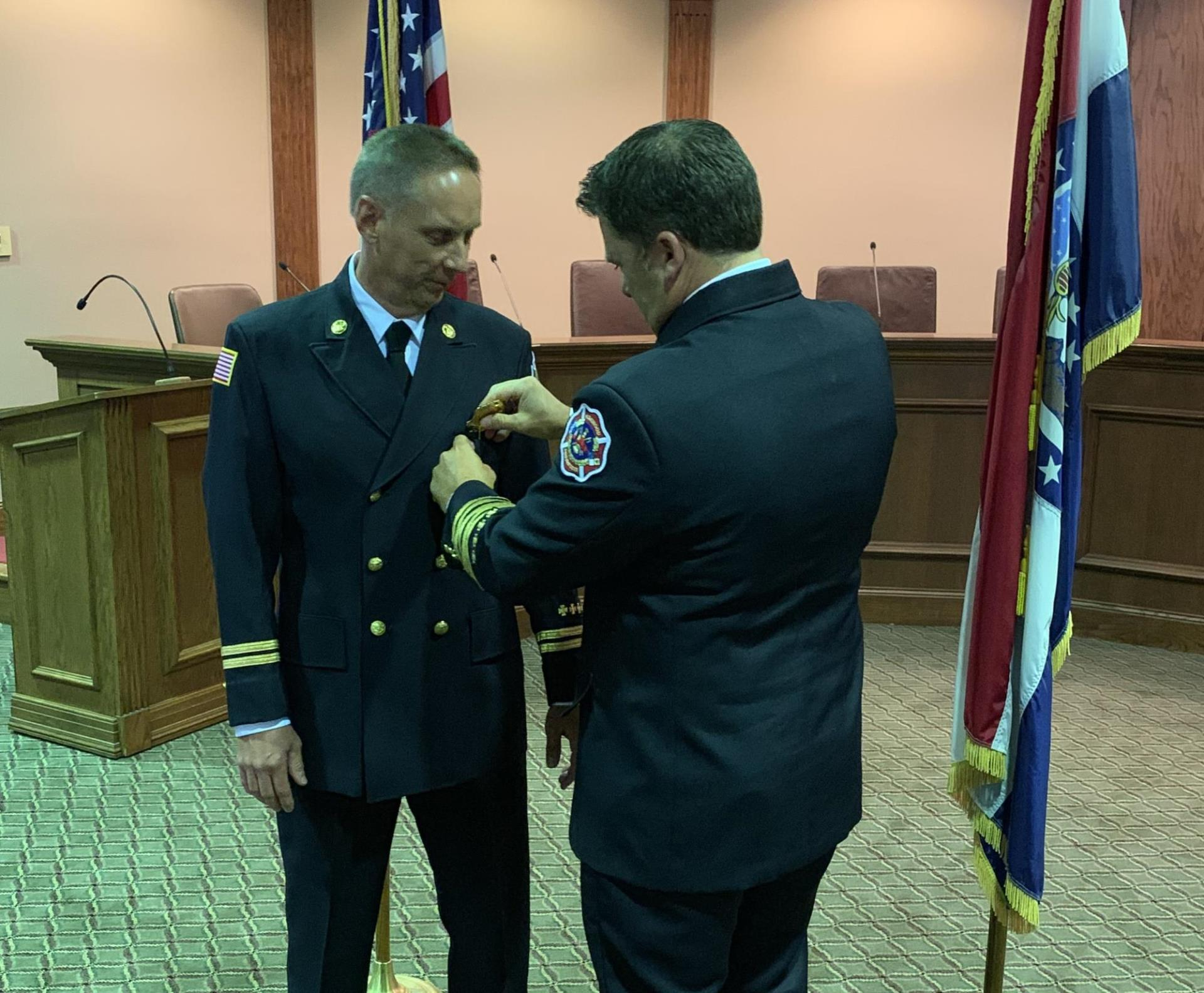City Swears in New Fire Marshal